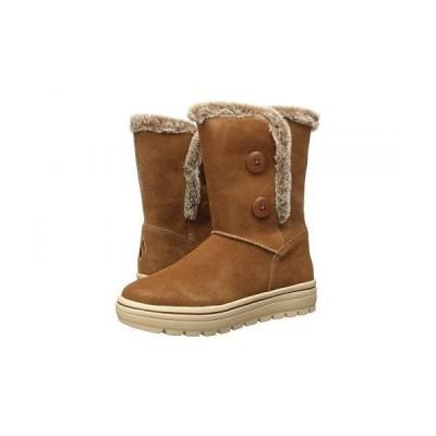SKECHERS スケッチャーズ レディース 女性用 シューズ 靴 ブーツ スタイルブーツ アンクル ショートブーツ Street Cleats - Chestnut