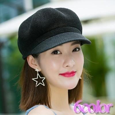 レディース 帽子 キャスケット ストロー素材 つば付き 通気 紫外線対策 日焼け対策 可愛い おしゃれ 送料無料 メール便