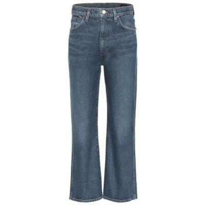 ゴールドサイン Goldsign レディース ジーンズ・デニム ボトムス・パンツ High-Rise Cropped Wide-Leg Jeans hayward