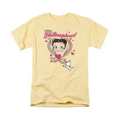 ベティブープ (Betty Boop) Tシャツ FaBooplous!  バナナ アダルト サイズ BB-TV-AT-BB597