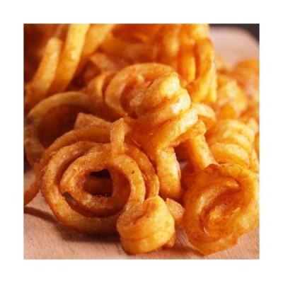 ミートガイ 冷凍 味付きスパイラルポテト (500g) フライドポテト Frozen Spiced Spiral Potatoes