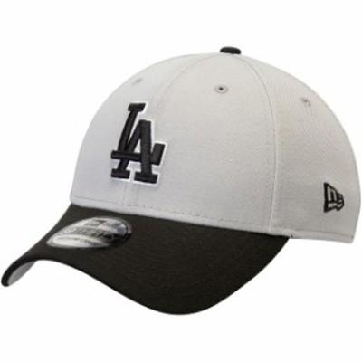 New Era ニュー エラ スポーツ用品  New Era Los Angeles Dodgers Gray/Black Team Classic 39THIRTY Flex Hat