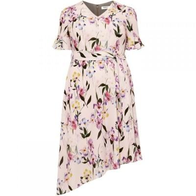 スタジオ8 Studio 8 レディース ワンピース ワンピース・ドレス Calie Asymmetric Dress Pink Multi