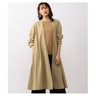 大きいサイズ ALPHA CUBIC Aラインライトコート(薄手素材) ,スマイルランド, コート, plus size coat