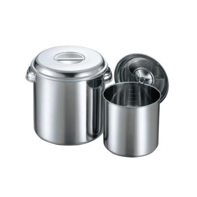 クローバー モリブデン 丸型キッチンポット(目盛付)22cm 手付/業務用/新品