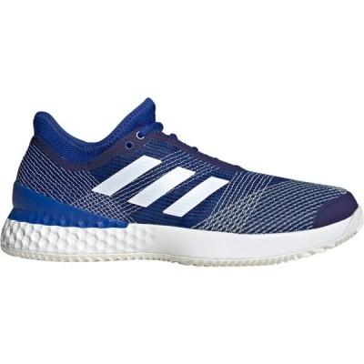 アディダス シューズ メンズ テニス adidas Men's ubersonic 3 Tennis Shoes RoyalBlue/White