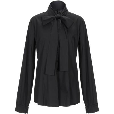アンナリータ エンネ ANNARITA N シャツ ブラック 44 コットン 61% / ナイロン 36% / ポリウレタン 3% シャツ