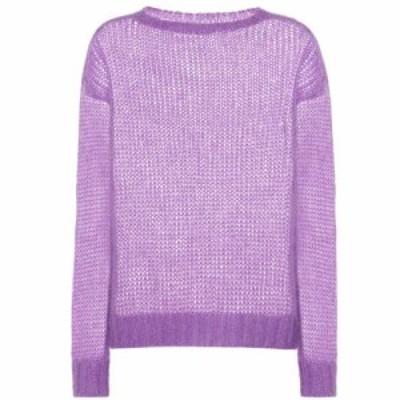 プラダ Prada レディース ニット・セーター トップス Mohair-blend sweater Glicine