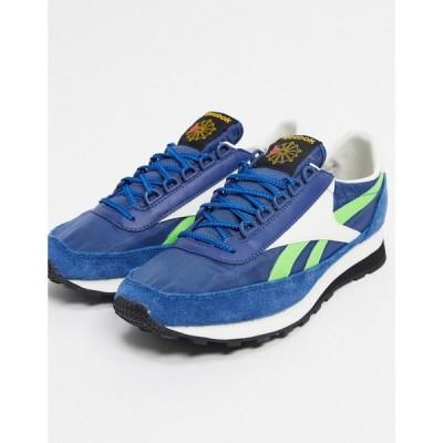 リーボック Reebok メンズ スニーカー シューズ・靴 Classics AZ 79 trainers in blue ブルー