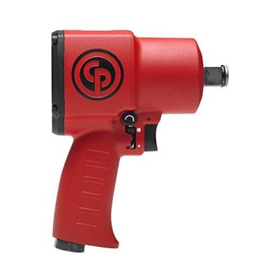 """Chicago Pneumatic 8941077620 CP7762 Ultra Compact and Lightweight Stubby Air Impact Wrench, 3/4"""" Drive Red 6.2"""""""