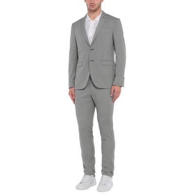 DOMENICO TAGLIENTE スーツ ブラック 50 ポリエステル 65% / レーヨン 35% スーツ