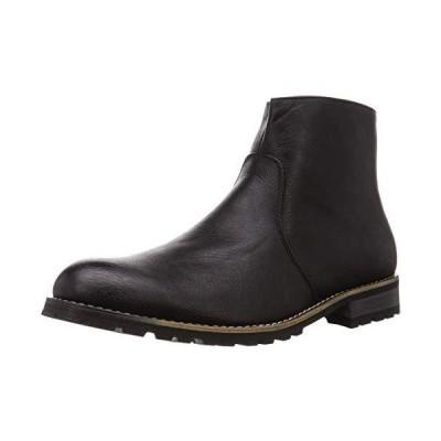 デデス シンプルで合わせやすく履いた時のシルエットがきれいなショートブーツ/5239 5239 メンズ ブラック 25 cm