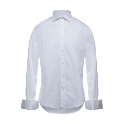 パル ジレリ PAL ZILERI シャツ ホワイト 40 コットン 100% シャツ