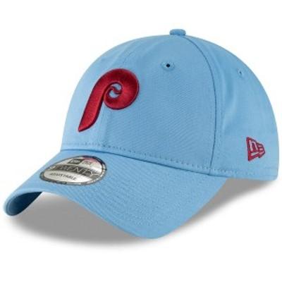 ニューエラ メンズ 帽子 アクセサリー Philadelphia Phillies New Era Cooperstown Collection Core Classic Replica 9TWENTY Adjustable