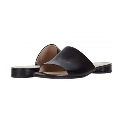 ECCO エコー レディース 女性用 シューズ 靴 サンダル Flat Sandal II Slide - Black Cow Leather