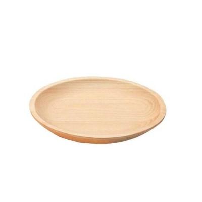 桧・丸皿 32186小  食器(ビュッフェ用)
