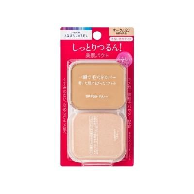 資生堂(SHISEIDO) アクアレーベル 保湿・肌あれケア モイストパウダリー オークル20 (レフィル) 自然な肌色 (11.5g)