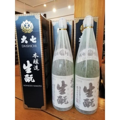 【福島の酒・送料無料】大七「生もと 本醸造」箱入り1.8L  6本セット 大七酒造