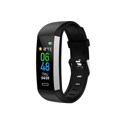 gdfh Fitness Tracker with Body Temperature Heart Rate Sleep Monitor, IP67 Waterproof Smart Fitness Watch with Step Counter Call Message for