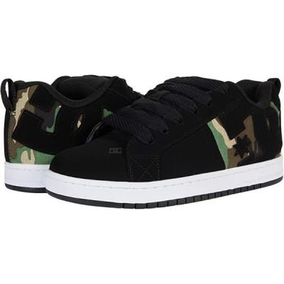 ディーシーシュー Court Graffik SQ メンズ スニーカー 靴 シューズ Black/Camo Print