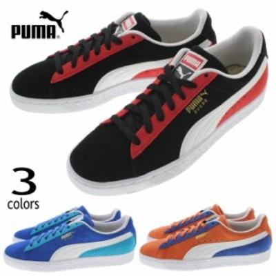 プーマ PUMA スニーカー スウェード クラシック ココノ 369640 プーマブラック/ホワイト(01)サーフ ザ ウェブ/ホワイト(02)ナスタチ