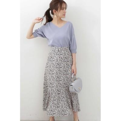 ◆《EDIT COLOGNE》ランダムヘムマーメイドスカート