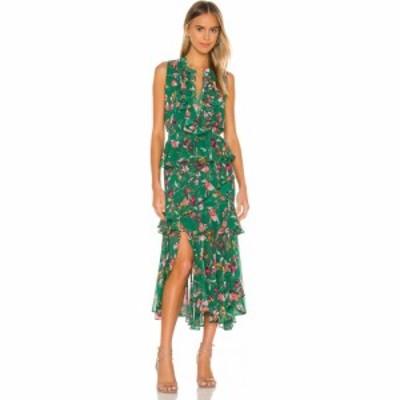 ミサロサンゼルス MISA Los Angeles レディース ワンピース ワンピース・ドレス Ilona Dress Kelly Blooms