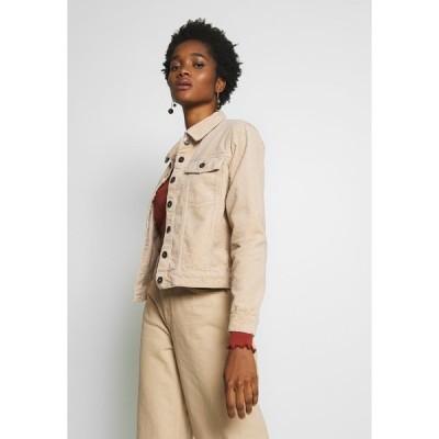 ジェイディーワイ ジャケット&ブルゾン レディース アウター JDYKIRAZ JACKET  - Summer jacket - light brown