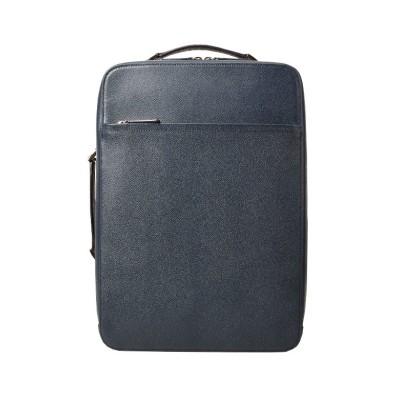 【カバンのセレクション】 ファイブウッズ サファイア リュック ビジネスリュック メンズ 本革/レザー A4 FIVE WOODS 39222 ユニセックス ネイビー フリー Bag&Luggage SELECTION