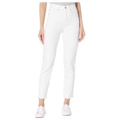 トリバル レディース デニムパンツ ボトムス Five-Pocket High-Rise Slim in White
