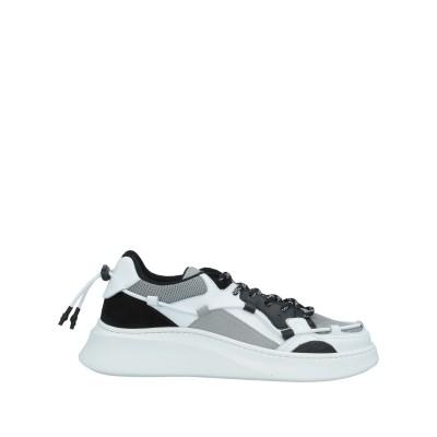 YLATI スニーカー&テニスシューズ(ローカット) ホワイト 39 革 / 紡績繊維 スニーカー&テニスシューズ(ローカット)
