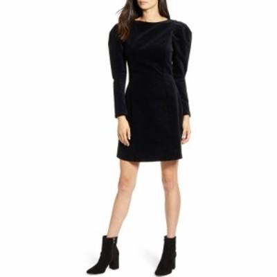 エージー AG レディース ワンピース ワンピース・ドレス Walker Puff Long Sleeve Dress True Black
