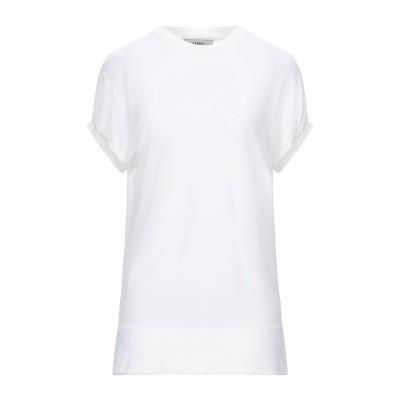 アルファスタジオ ALPHA STUDIO T シャツ ホワイト 40 レーヨン 100% T シャツ
