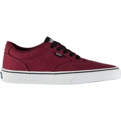 ヴァンズ Vans メンズ スケートボード シューズ・靴 winston skate shoes Burgundy/Black