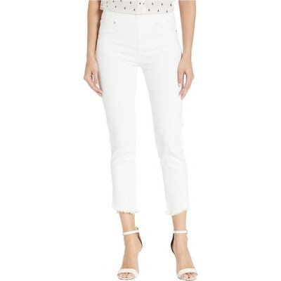 リバプール Liverpool レディース ジーンズ・デニム ボトムス・パンツ Chloe Pull-On Crop Skinny w/ Angled Slit in Bright White Bright White