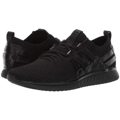 コールハーン Grand Motion Woven Stitchlite メンズ スニーカー 靴 シューズ Black/Black