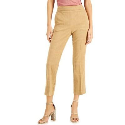マレーラ カジュアルパンツ ボトムス レディース Cropped Straight-Leg Pants Camel