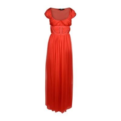 ELISABETTA FRANCHI ロングワンピース&ドレス レッド 40 ナイロン 100% ロングワンピース&ドレス