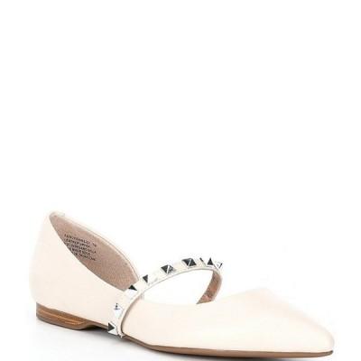 スティーブ マデン レディース パンプス シューズ Fairly Studded Leather Ballerina Flats