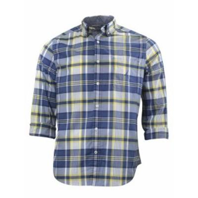 nautica ノーティカ ファッション アウター Nautica Large Plaid Poplin Long Sleeve Button Down Shirt