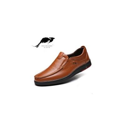 メンズ シューズ ローファー スリッポン イギリス風 紳士靴 裏ボア 2タイプ 暖か ビジネスシューズ フラットシューズ  カジュアル 大きいサイズ
