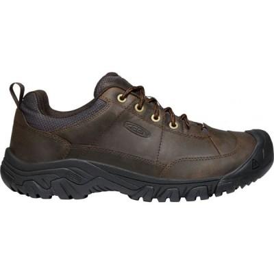 キーン Keen メンズ シューズ・靴 KEEN Targhee III Oxford Shoes Dark Earth