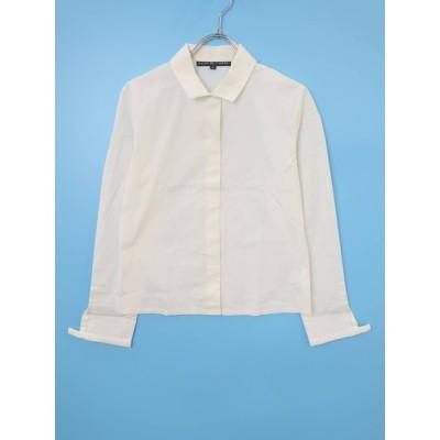 Ralph Lauren(ラルフローレン)ベーシックシャツ 長袖 白 レディース A-ランク 9