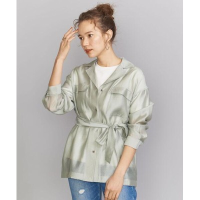 BEAUTY&YOUTH UNITED ARROWS / BY フラップポケットベルトシャツ WOMEN トップス > シャツ/ブラウス