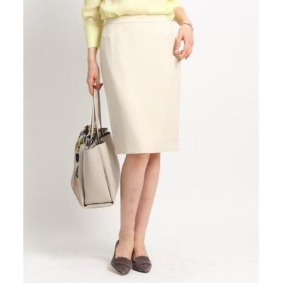 ◆【マシンウォッシュ】ポリツイルタイトスカート