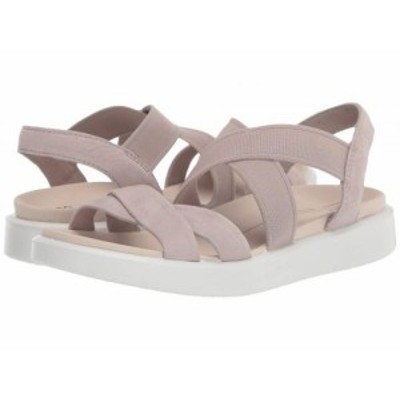 ECCO エコー レディース 女性用 シューズ 靴 サンダル Flowt Elastic Sandal Grey Rose Cow Nubuck【送料無料】