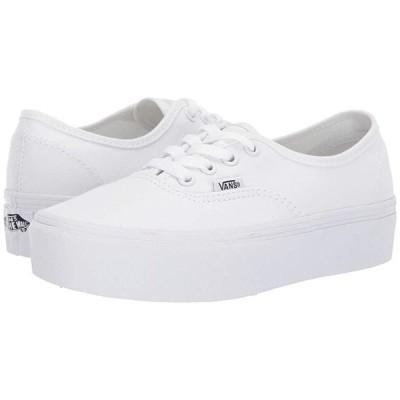 バンズ Authentic Platform 2.0 メンズ スニーカー 靴 シューズ True White