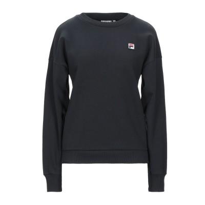 FILA スウェットシャツ ブラック XS コットン 65% / ポリエステル 35% スウェットシャツ
