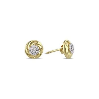 レディース アクセサリー  Rina Limor 10K Gold 0.24 ct. tw. Diamond Stud Earrings