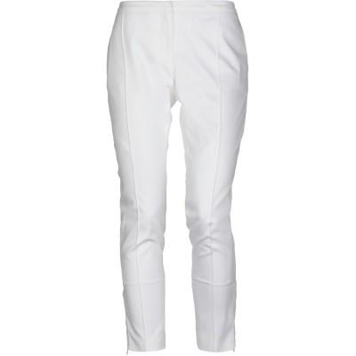 BURBERRY パンツ ホワイト 8 コットン 97% / ポリウレタン 3% パンツ